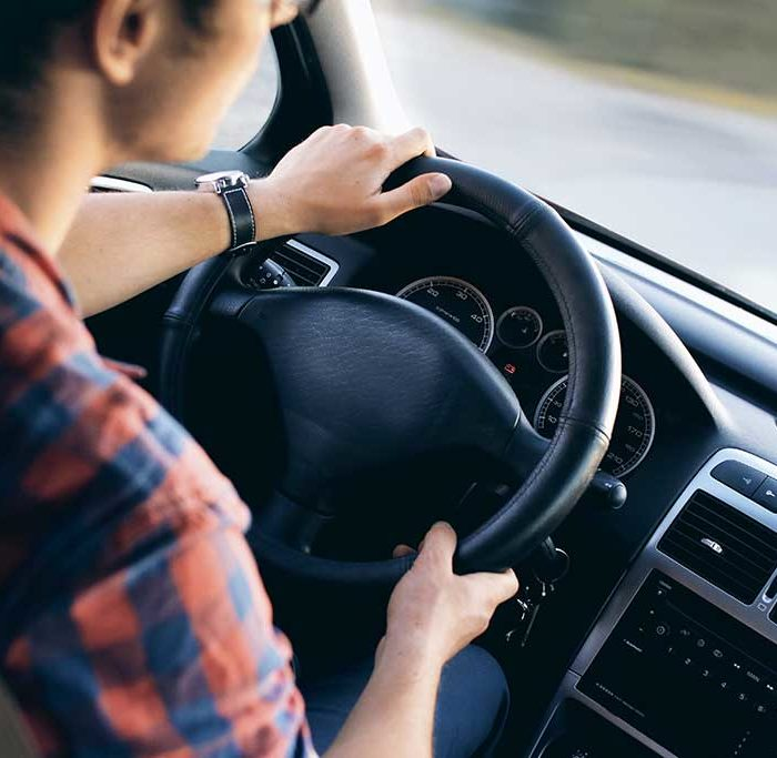 Angst beim Autofahren