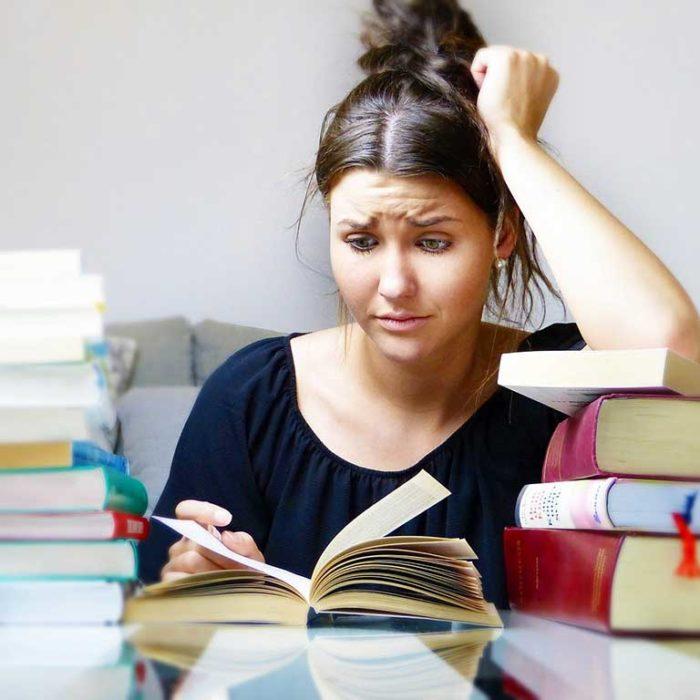 Lernschwierigkeiten / Schulangst